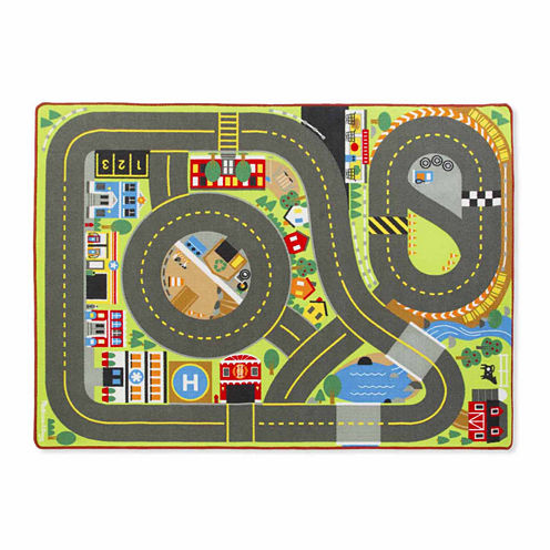 Melissa & Doug® Jumbo Roadway Activity Rug