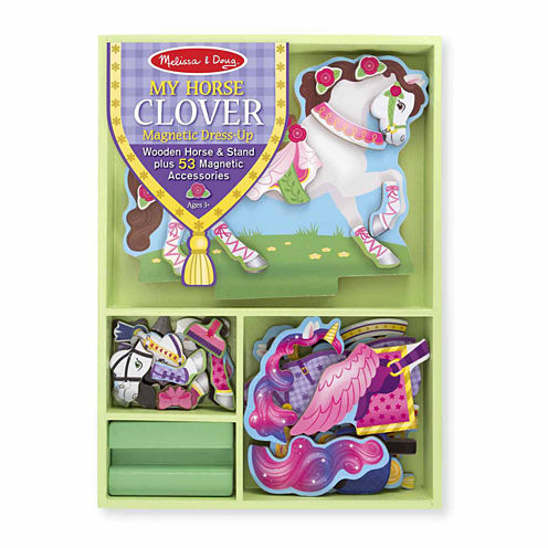 Melissa & Doug® My Horse Clover Magnetic Dress Up