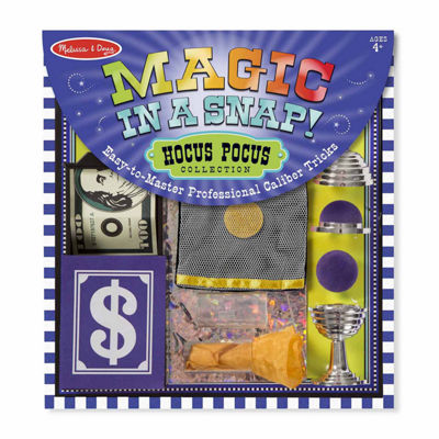 Melissa & Doug® Magic in a Snap Hocus-Pocus Collection