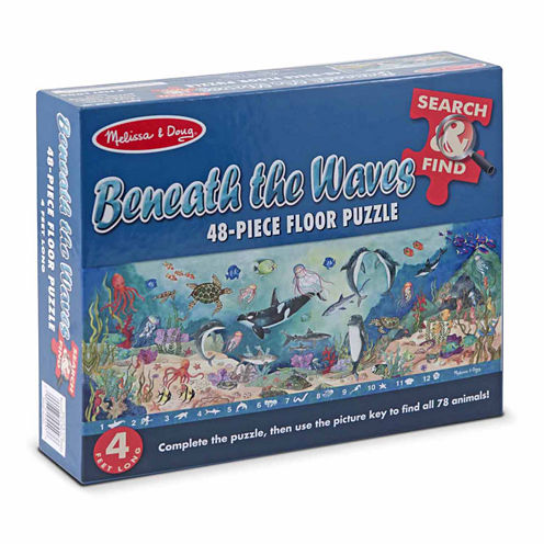 Melissa & Doug® Search & Find Beneath the Waves Floor (48 pc)