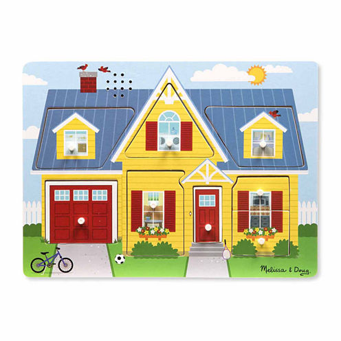 Melissa & Doug® Around the House Sound Puzzle