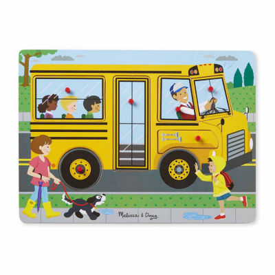Melissa & Doug® The Wheels on the Bus Sound Puzzle