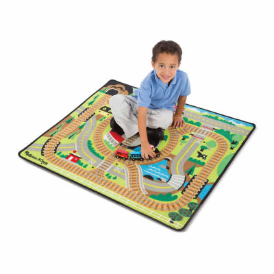 Melissa & Doug® Round the Rails Train Rug