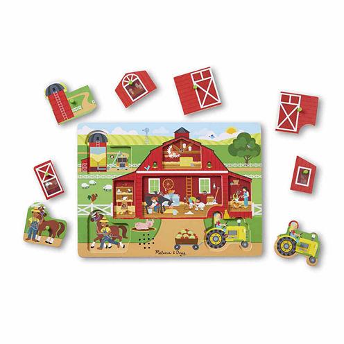 Melissa & Doug® Around the Farm Sound Puzzle