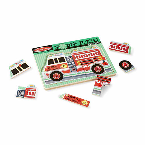 Melissa & Doug® Fire Truck Sound Puzzle