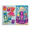 Melissa & Doug® Mermaid Dress-Up Chunky Puzzle