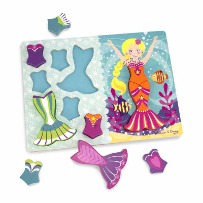 Melissa & Doug® Mermaid Dress-Up Chunky Puzzle