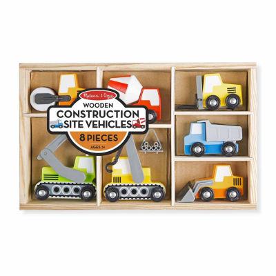 Melissa & Doug® Wooden Construction Site Vehicles