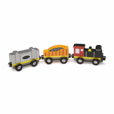 Melissa & Doug® Wooden Train Cars