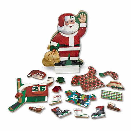 Melissa & Doug® Santa Magnetic Dress-Up