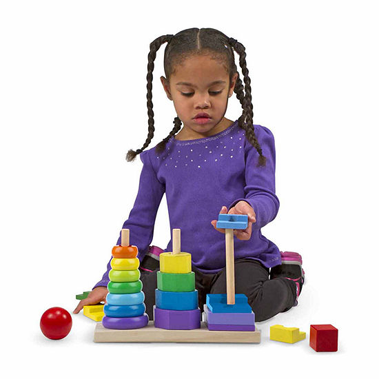 Melissa & Doug® Geometric Stacker