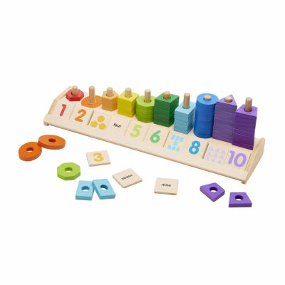 Melissa & Doug® Counting Shape Stacker
