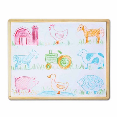 Melissa & Doug® Wooden Stencil Box