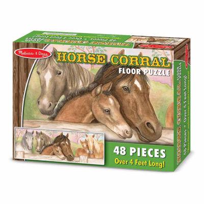 Melissa & Doug® Horse Corral Floor Puzzle  (48 pc)