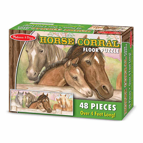 Melissa & Doug® Horse Corral Floor Puzzle  (48 pc)