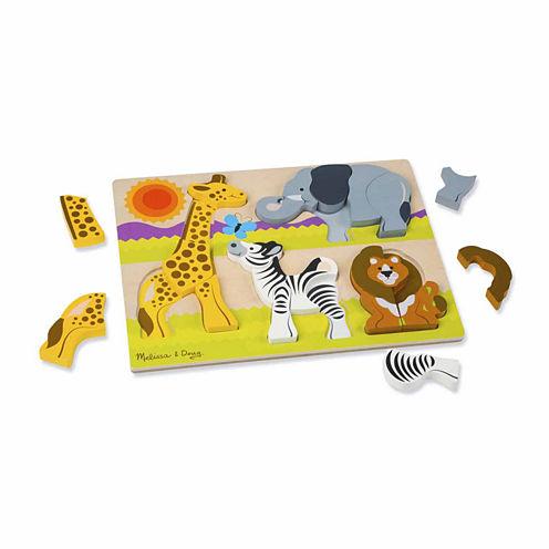 Melissa & Doug® Chunky Jigsaw Puzzle - Safari