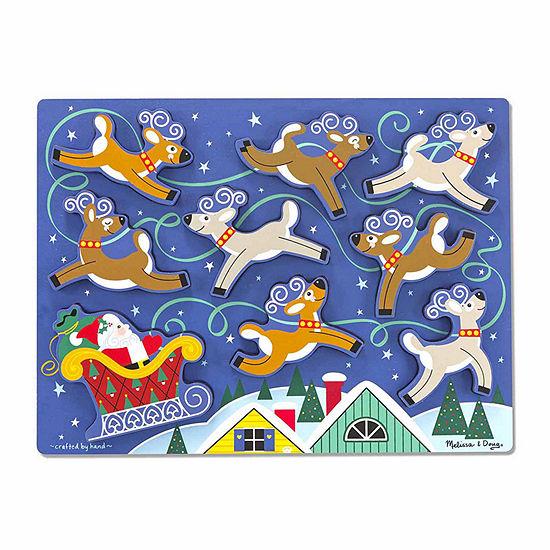 Melissa & Doug® Santa's Sleigh Chunky Puzzle