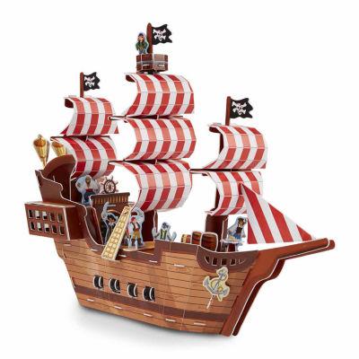 Melissa & Doug® Pirate Ship 3D Puzzle