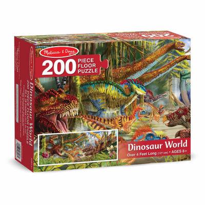 Melissa & Doug® Dinosaur World Floor Puzzle (200pc)