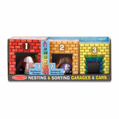 Melissa & Doug® Nesting & Sorting Garages & Cars