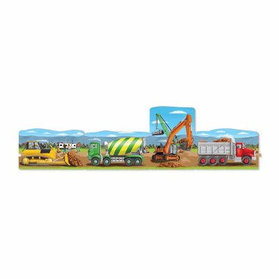 Melissa & Doug® Construction Linking Floor Puzzle(96 pc)
