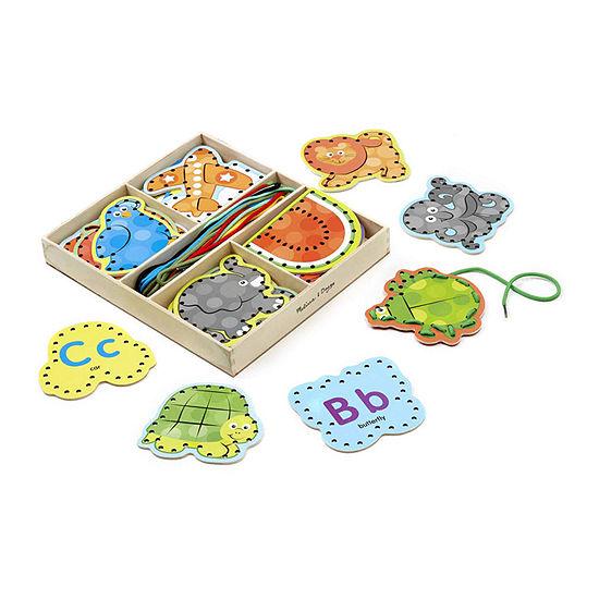 Melissa & Doug® Alphabet Lacing Cards