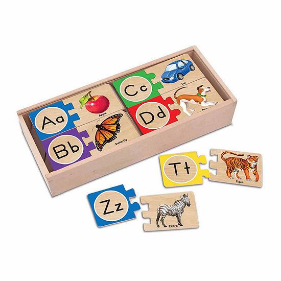 Melissa & Doug® Letter Puzzles