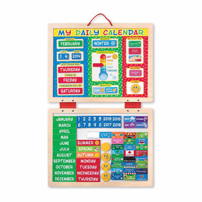 Melissa & Doug® My First Daily Magnetic Calendar