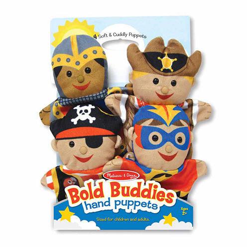 Melissa & Doug® Bold Buddies Hand Puppets