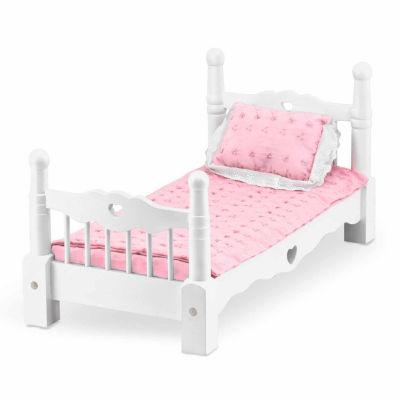 Melissa & Doug Wooden Doll Bed