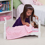 Melissa & Doug® Wooden Doll Bed