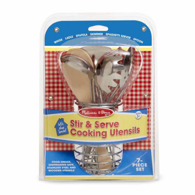 Melissa & Doug® Let's Play House! Stir & Serve Cooking Utensils