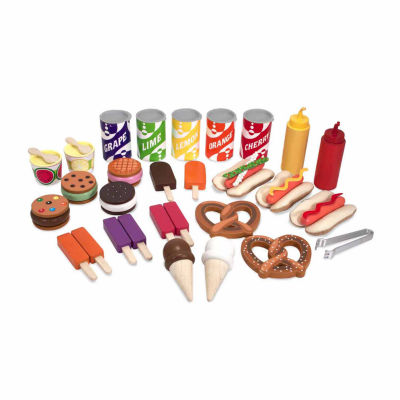 Melissa & Doug® Snacks & Sweets Food Cart
