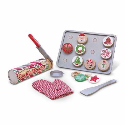 Melissa & Doug® Slice & Bake Christmas Cookie Play Set