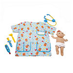 Melissa & Doug Pediatric Nurse Unisex Costume
