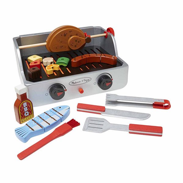 Melissa & Doug® Rotisserie & Grill Barbecue Set