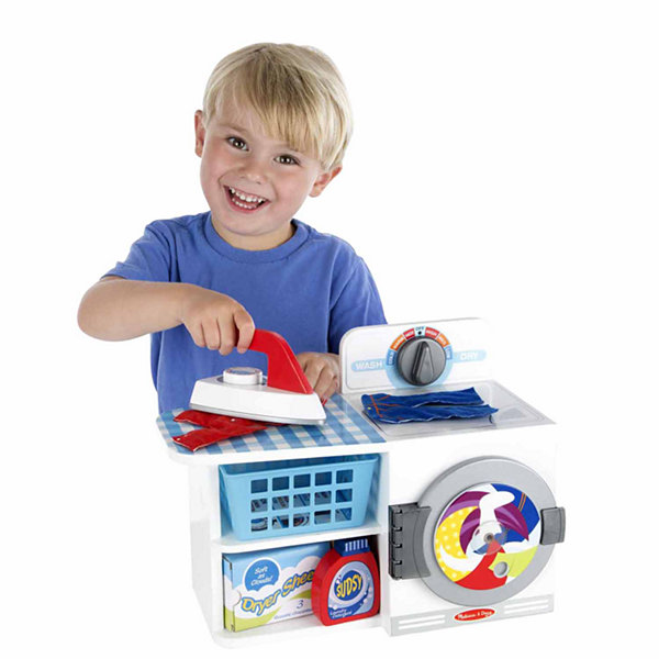 Melissa & Doug® Let's Play House! Wash, Dry & Iron