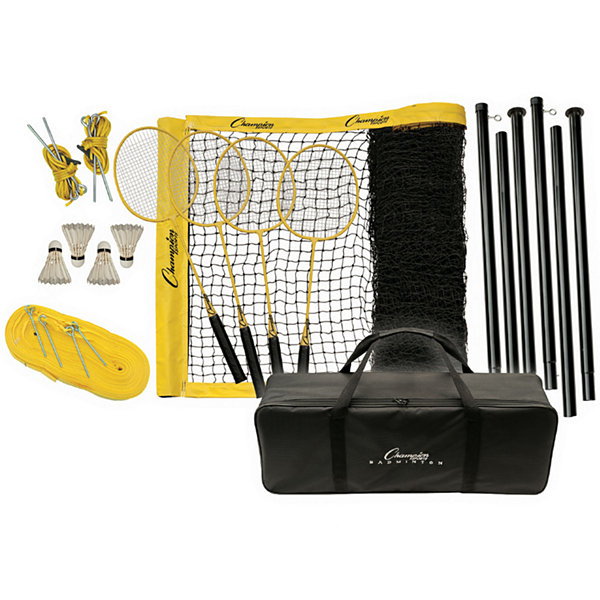 Champion Sports Tournament Series 21-pc. Badminton Set