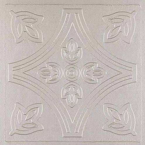 Metallo Silver 4x4 Self Adhesive Vinyl Wall Tile - 24 Tiles/3 Sq Ft.
