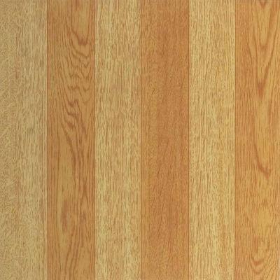 Nexus Light Oak Plank-Look 12x12 Self Adhesive Vinyl Floor Tile - 20 Tiles/20 Sq Ft.