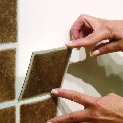 Nexus Forest 4x4 Self Adhesive Vinyl Wall Tile - 27 Tiles/3 Sq Ft.
