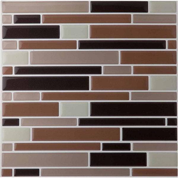 Magic Gel Beige 9 125x9 125 Self Adhesive Vinyl Wall Tile 1