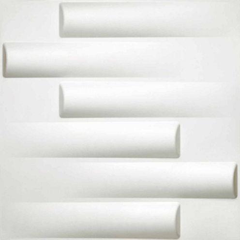 Donny Osmond Logs 19.6x19.6 Self Adhesive Wall Tile - 10 Tiles/26.70 Sq Ft.