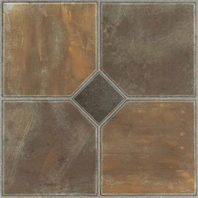 Nexus Rustic Slate 12x12 Self Adhesive Vinyl Floor Tile - 20 Tiles/20 Sq Ft.