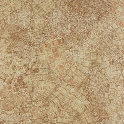 Nexus Ancient Beige Mosaic 12x12 Self Adhesive Vinyl Floor Tile - 20 Tiles/20 Sq Ft.