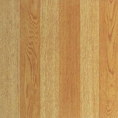 Tivoli Light Oak Plank-Look 12x12 Self Adhesive Vinyl Floor Tile - 45 Tiles/45 Sq Ft