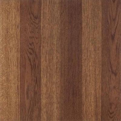 Tivoli Medium Oak Plank-Look 12x12 Self Adhesive Vinyl Floor Tile - 45 Tiles/45 Sq Ft