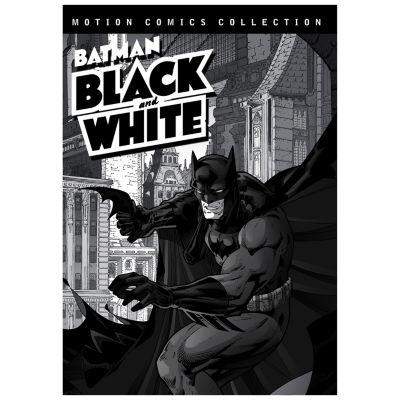 Batman Black And White Motion Comics Collection