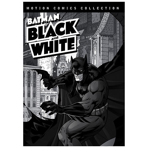 Batman Black And White Motion Comics Collection