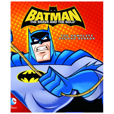 Batman: The Brave And The Bold - The Complete Second Season Blu-Ray